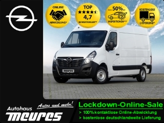 Opel Movano Cargo 2.3D L2H2 FLÜGELTÜREN 3-SITZER