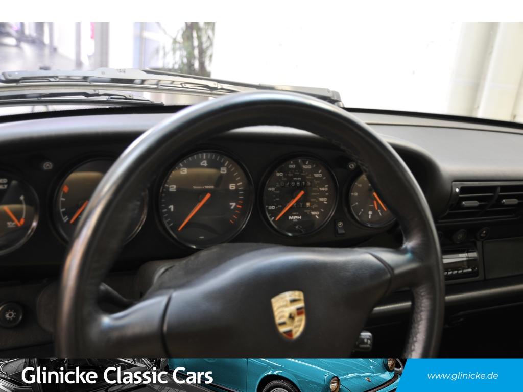Porsche 993 Carrera Coupe -6 Gang Leder beige