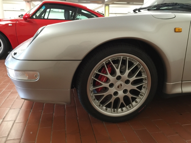 Porsche 993 Carrera S Coupe Tiptronic Boardcomputer Klimaanlage Lederausstattung