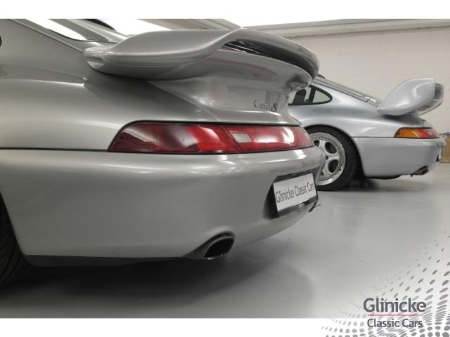 Porsche 993 Carrera S - Ark. Silb / Ganzleder Terracotta