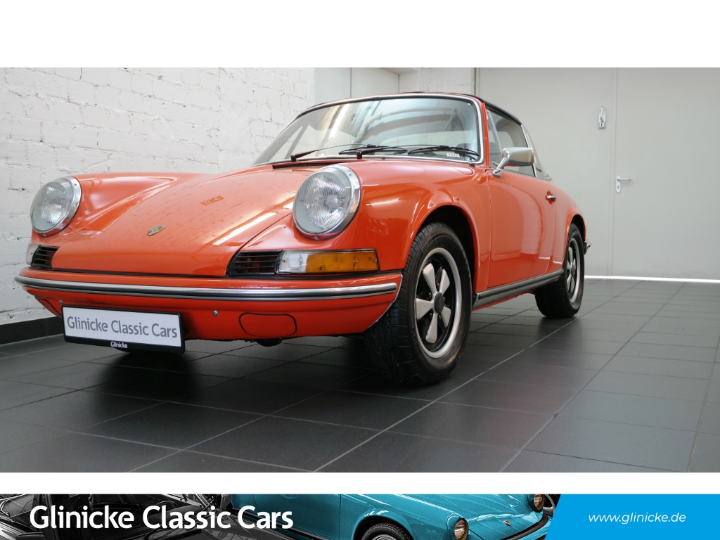 Porsche 911 2.4T Targa - Blutorange - Sportsitze