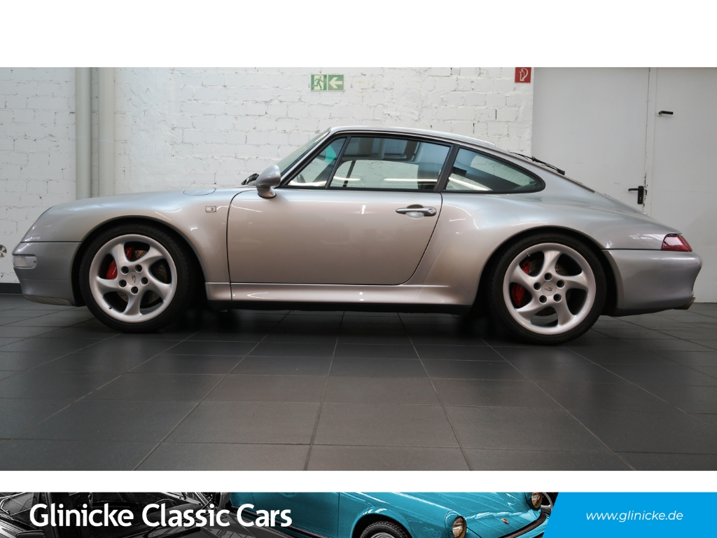 Porsche 993 Carrera 4S Turbo-Look - TÜV NEU