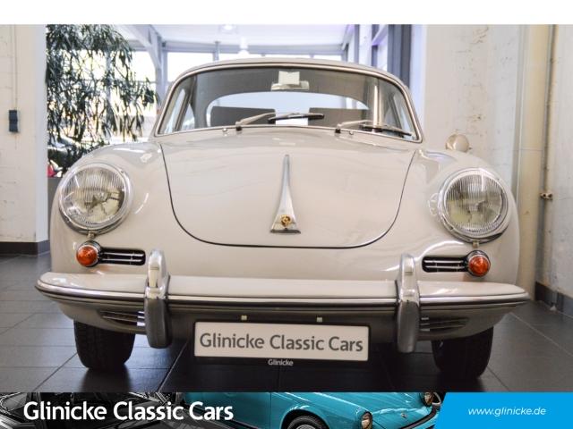 Porsche 356 C Coupe Bj. 1964 - Grau / Leder Blau