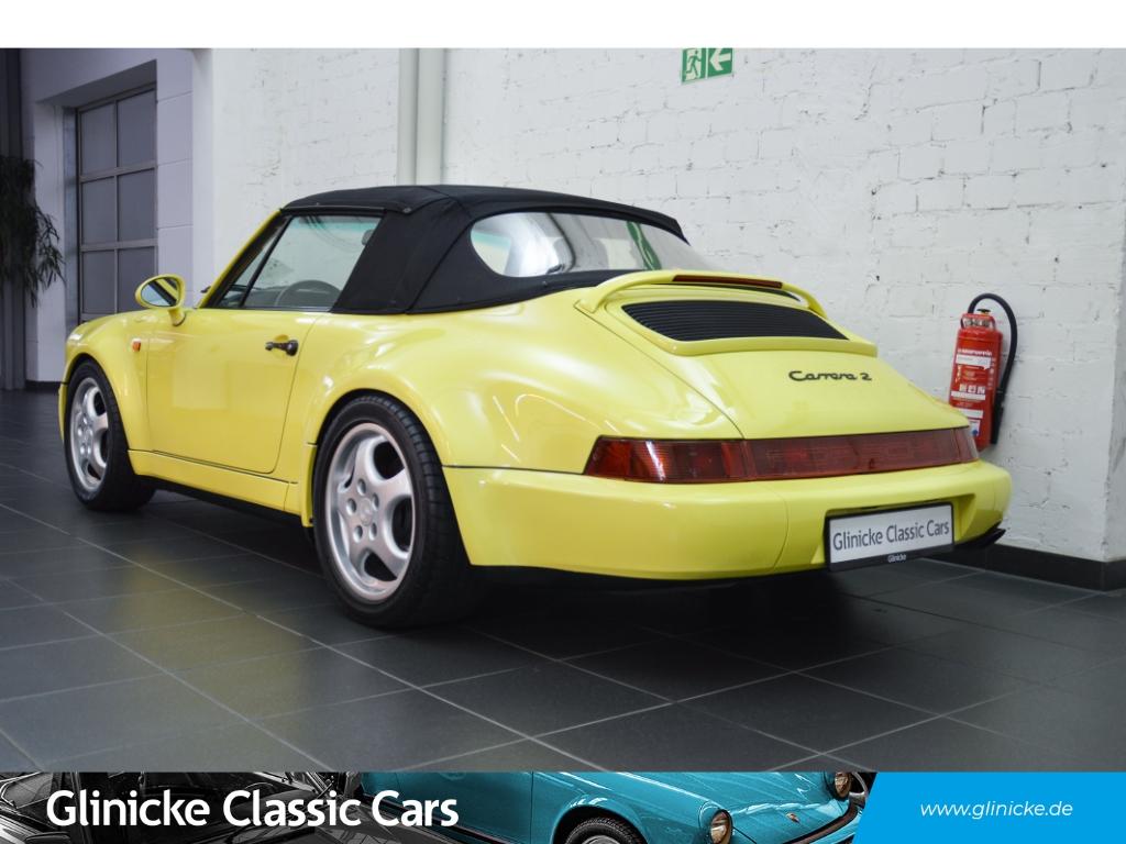 Porsche 964 Carrera 2 WTL Cabriolet 5-Gang