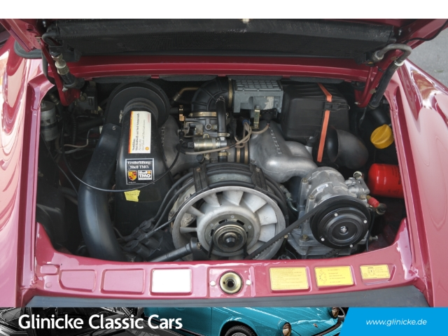 Porsche 911 3.2 Carrera WTL Cabriolet - Lufteinlässe