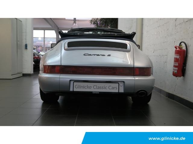 Porsche 964 Carrera 2 Cabriolet - 5-Gang Handschalter