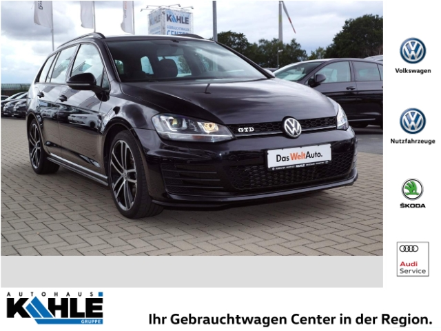 Volkswagen Golf Variant VII 2.0 TDI BMT GTD Navi Klima PDCv+h