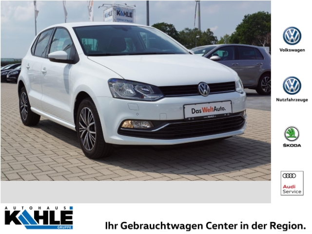 Volkswagen Polo V 1.0 BMT Allstar Klima Sitzheizung PDC v+h RDC