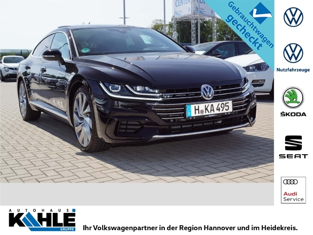 Volkswagen Arteon 2.0 TDI SCR DSG R-LINE Standhz. AHK Leder DAB+