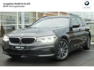 BMW 520d Sport Line Touring EU6d-T Park-Assistent LED Navi Keyless Kurvenlicht HUD ACC Parklenkass. - Bild 1