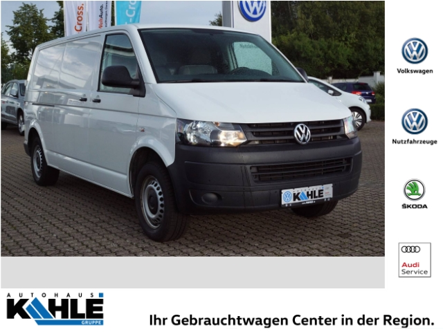 Volkswagen T5 Kasten LR 2.0 TDI AHK ZV PDCv+h CD MP3 ESP DPF