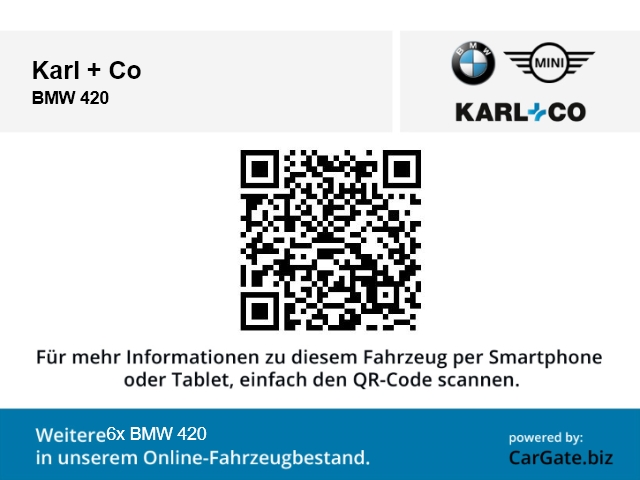 BMW 420 420: Bild 17