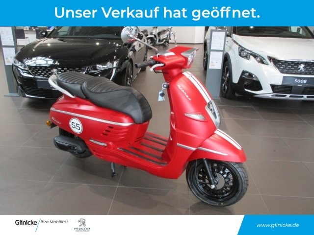 Peugeot Django 50 4T Red Peugeot Erfurt