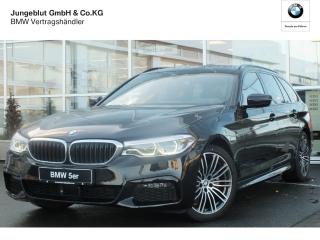 BMW 520d M Sport Touring EU6d-T Park-Assistent LED Navi Kurvenlicht HUD ACC Parklenkass. - Bild 1