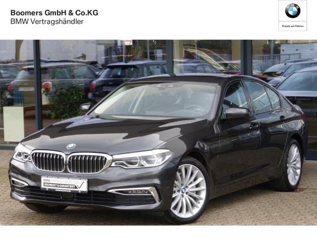 BMW 530  e Luxury Line EU6d-T Park-Assistent Leder LED Navi Keyless AD Kurvenlicht e-Sitze HUD