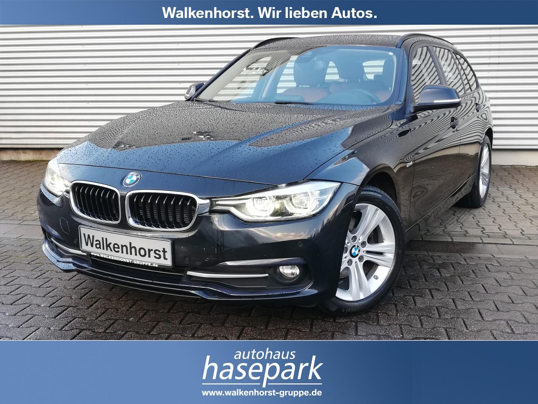 BMW 320d Sport Line Touring EURO 6 Aut AHK LED Navi Temp Klima PDC