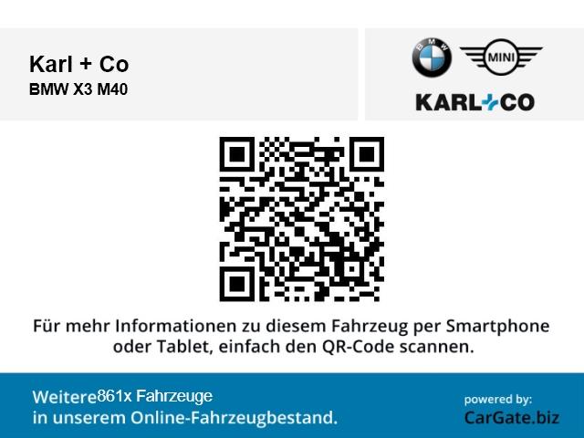 BMW X3 M40 X3 M40: Bild 17