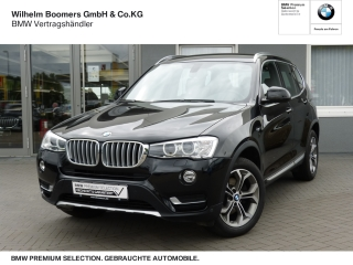 BMW X3xDr. 30d X-Line Navi AHK Komfortzugang Xenon PDC - Bild 1