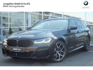 BMW 530d xDrive Facelift Touring Navi HeadUP LED StandHZG Kurvenlicht e-Sitze Parklenkass. - Bild 1