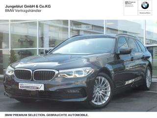 BMW 520d Sport Line Touring Mild Hybrid Navi-T Park-Assist. Leder LED Navi Kurvenlicht - Bild 1