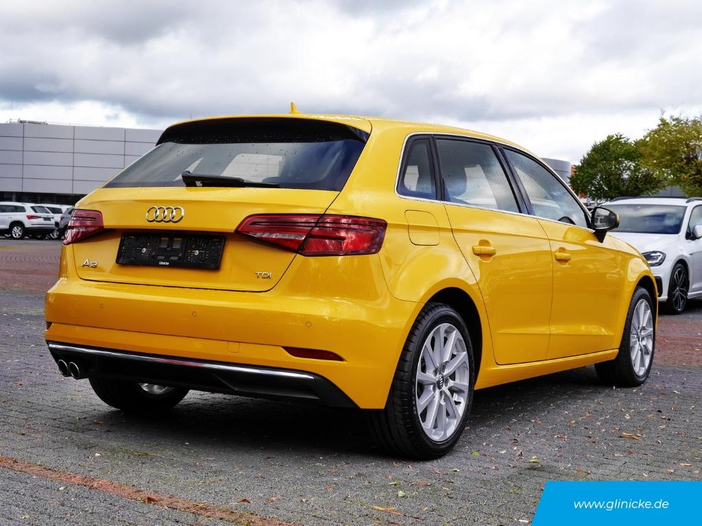 Audi A3 Sportback 2.0 TDI Matrix LED DSG Navi AHK-abnehmbar Leder