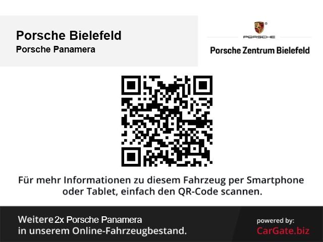Porsche Panamera 4S E-Hybrid Leder LED Navi Dyn. Kurvenlicht e-Sitze HUD ACC Rückfahrkam. Allrad