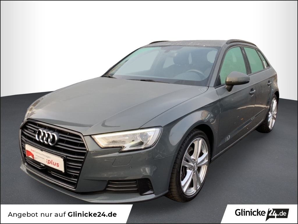 Audi A3  SB 40 TDI qu sport Navi Optik Schwarz Carplay