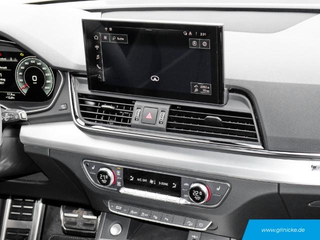 Audi Q5 45 TFSI quattro S line Navi StandHZG Keyless ACC LED Parklenkass. Leder AD