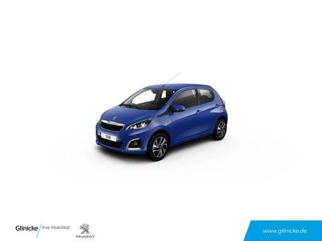 Peugeot 108 Allure 1.0 VTi EU6d LED-Tagfahrlicht Multif.Lenkrad RDC Klimaautom SHZ AUX USB