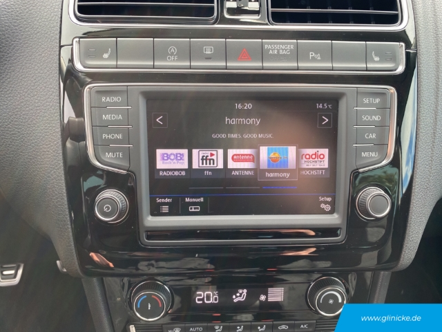 Volkswagen Polo V Sound 1.2 TSI LED Klima Bluetooth USB