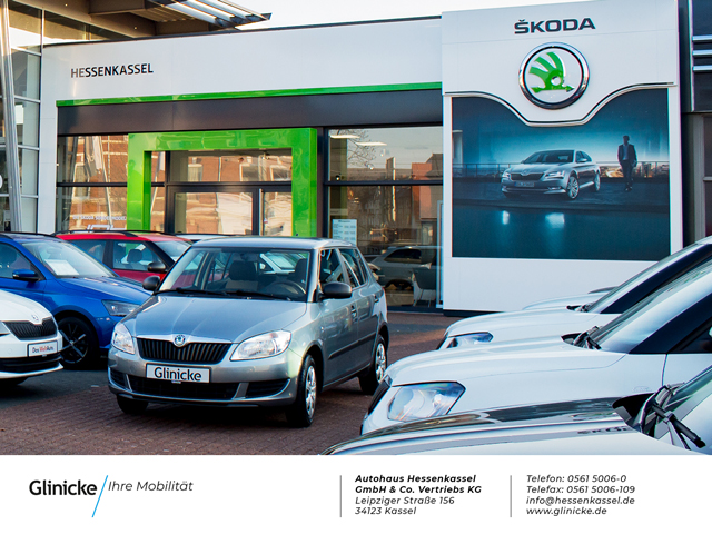 Skoda Fabia  Combi Cool Plus 1.0 MPI Klima+Sitzheizung+