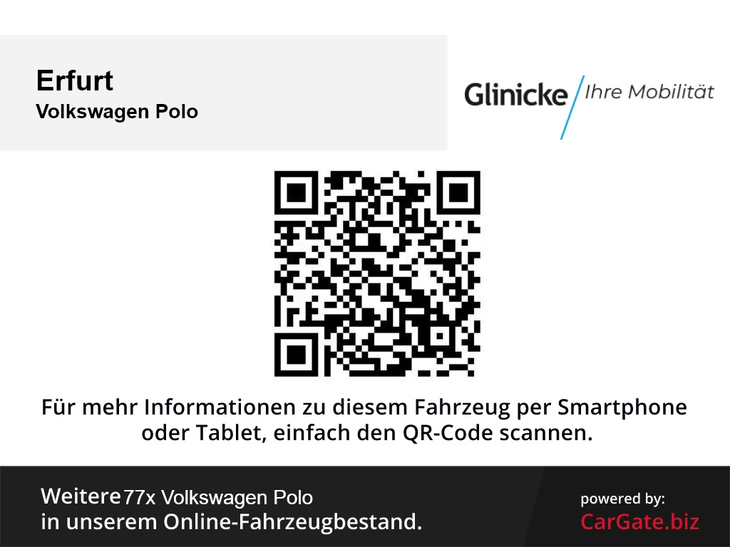 Volkswagen Polo Highline 1.0 TSI (95 PS) LED ACC PDC Multif